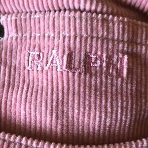 Ralph Lauren Pants - Ralph Lauren pink corduroy pants/ cropped or full